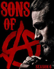 Sons of Anarchy: Season Six (Blu-ray Disc, 2014, 4-Disc Set) NEW Free Shipping