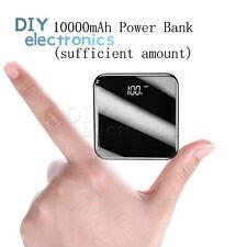 10000mAh Lcd digital Power Bank Portable Charging Usb Type-C Micro Charger Us