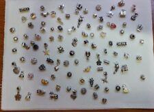 100 Charms misti per braccialetto argento donna