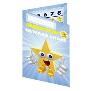 Classroom Pocket Reward Charts Incentive Pack suitable for up to 13mm stickers