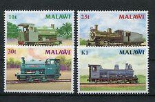 Malawi 481/84 postfrisch / Eisenbahn .....................................1/1549