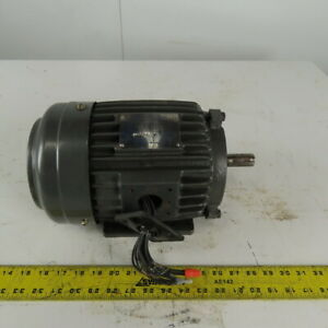Westinghouse AEEANE 1Hp 1160RPM 208-230/460V 145T AC Induction Electric Motor