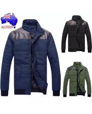 Winter Men's Jacket Trench Zipper Coat