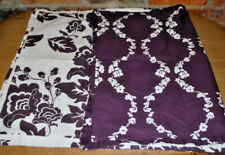 Pair Pillow Shams  2 King Size Reversible Napa Trellis Fabric Springmaid