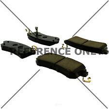 Disc Brake Pad Set Rear Centric 105.15100