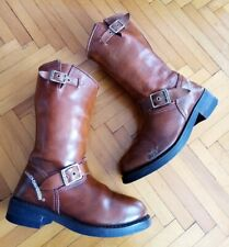 Womens Brown Harley Davidson Boots Size 5