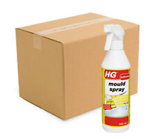 Case 6 x HG Mould Spray 500ml Mould and Mildew Killer Spray £4.99 Each Bottle