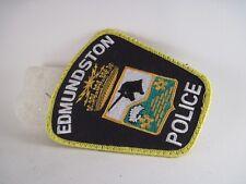 Edmunston   Police.   patch