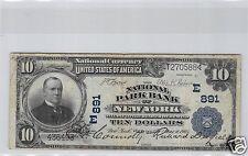 ESTADOS UNIDOS NACIONAL MONEDA $10 DÓLARES 1902 NUEVA YORK