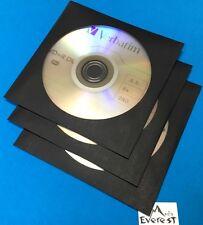 3 VERBATIM DVD+R DL 8.5 GB 8X 240 MIN 95310 Branded Logo & Sleeve