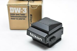 [ALMOST UNUSED IN BOX] NIKON DW-3 Eye Waist Level Finder DW3 for F3 from JAPAN