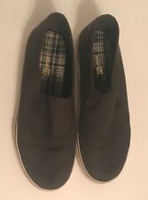 Smart Fit Classic Slip On Gray White Shoes Kids Youths Boys Sneakers Size 4 1/2