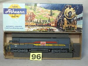 ATHEARN HO SCALE SCL/L&N FAMILY LINES DIESEL LOCOMOTIVE, EXCELLENT, READY TO RUN