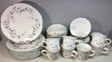 Pfaltzgraff Winterberry Dish Service For 8 (32 Pcs) Plates Bowls Cups Saucers