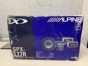 Rare old school Alpine SPX-177R Components