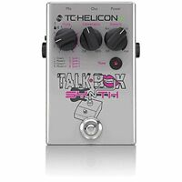 TC Helicon Talkbox Synth Guitar/Vocal Effects Pedal + Picks NEW + FREE 2DAY SHIP