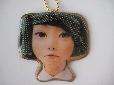 Oriental Girl Pendant Necklace