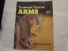 THOMPSON CENTER ARMS 1988 no. 15 catalog