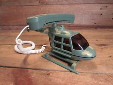 Novelty Phone MILITARY Telephone ~ Touch Tone Helicopter!
