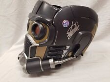 SIGNED BY STAN LEE START LORD MASK HELMET REPLICA Marvel legends GUARDIANS STATU
