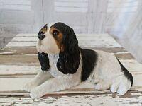 Sandy cast spaniel King cavalier 421 dog puppy figurine  original vintage