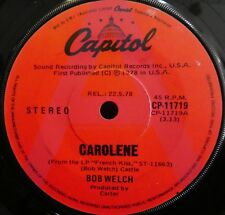 BOB WELCH AA Side Promo Carolene CAPITOL AUSTRALIA 45  Fleetwood Mac