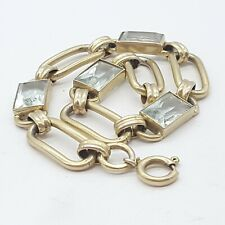 Art Deco 835 Silber Armband - (22)