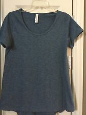NWT Lularoe Classic T Tee Top Shirt S Small Blue