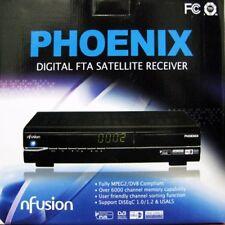 FREE TO AIR FTA SATELLITE RECEIVER DBS AV LNB GALAXY 19 nFusion Phonenix