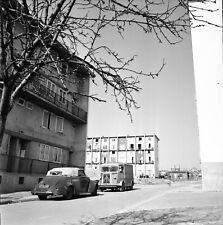 BEZONS c. 1955 - Auto Camion H Citroën HLM Val d'Oise - Négatif 6 X 6 - IDF 223