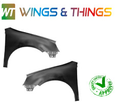VW GOLF MK5 04-09 FRONT WINGS PASSENGER & DRIVERS SIDE NEW PRIMED PAIR