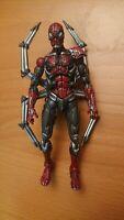 "Marvel Legends Classics Cyber Spider-Man 6"" Figure Toybiz Missing Shoulder pad"