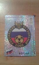 N°521 BADGE LOGO FOIL # ROSSIJA PANINI 2002 FIFA WORLD CUP KOREA JAPAN