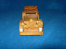 Hand Made Wood 1931 Cadillac Car 1:24 Scale Model