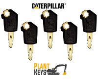 Caterpillar 5p8500 (Set of 5) Excavator Keys Grader Dozer Roller Skidsteer