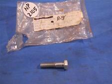 Triumph # 14-0218 Fork Bottom Cap Bolt 5/16 x 24 x 1 3/8 NOS  NP2105