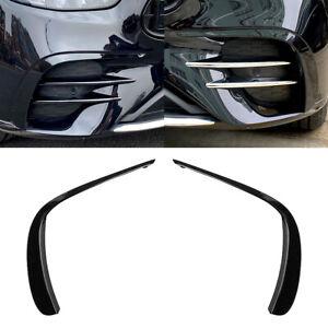 Front Bumper Lip Splitter Spoiler For Mercedes Benz E Class W213 E260 E300 2021+