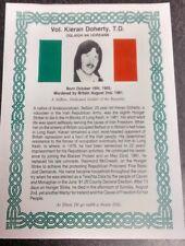 Irish Republican Long kesh Keiran Doherty Hunger striker Maze Prison Sinn Fein