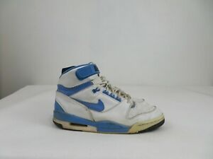 Vintage 2003 Nike Air Revolution Blue White Shoes Lace Up Sneaker Mens 10.5