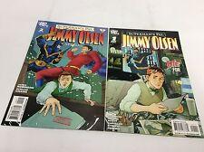 Superman's PAL Jimmy OLSEN #1-2 (DC/Robinson/0615144) COMIC BOOK SET LOT OF 2