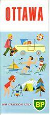 1966 BP Canada Road Map: Ottawa NOS