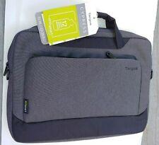 "Targus 14"" Cypress Slim Briefcase Slipcase EcoSmart Gray (No Shoulder Strap) NEW"