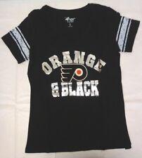 Philadelphia Flyers Women's G-III 4her Large First Pick v-Neck Tee Shirt