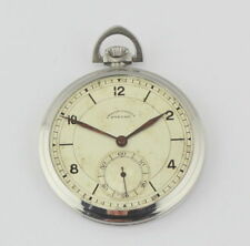 VINTAGE ETERNA WIND UP POCKET WATCH SIZE 12 S.EXCELLENT CONDITION.