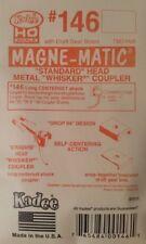 "Kadee HO Scale #146 ""Whisker"" (Long 25/64"") Metal Magne-matic Coupler"