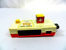 Vintage Fisher Price Pocket Camera 464 Trip to the Zoo Pictures 1974 Works Great
