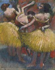 Edgar Degas Three Dancers Canvas Print 16 x 20   #4059