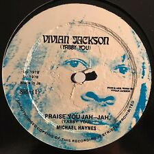 "Michael Haynes - Praise You Jah Jah / Dub - Yabby You 12"" 45T Rare Reggae 1978 ♫"