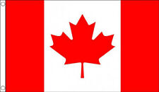 More details for huge 8ft x 5ft canada flag massive giant canadian maple leaf funeral flags