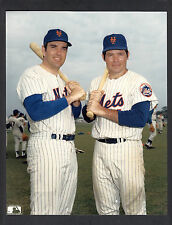 Ron Swoboda & Ed Kranpool 8x10 Color Photo 1969 New York Mets World Series champ